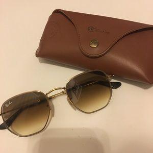 Ray-Bans Hexagonal @Collection sunglasses